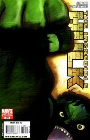 Incredible Hulk #600 Tim Sale Retail Variant 1:25 (2009) Marvel comic book